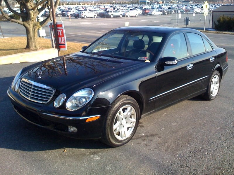 Pumpkin Fine Cars and Exotics: MERCEDES BENZ E320 - 2004