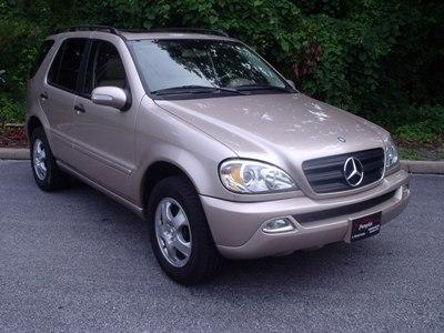 Pumpkin fine cars and exotics 2002 mercedes benz ml320 for Mercedes benz suv 2002