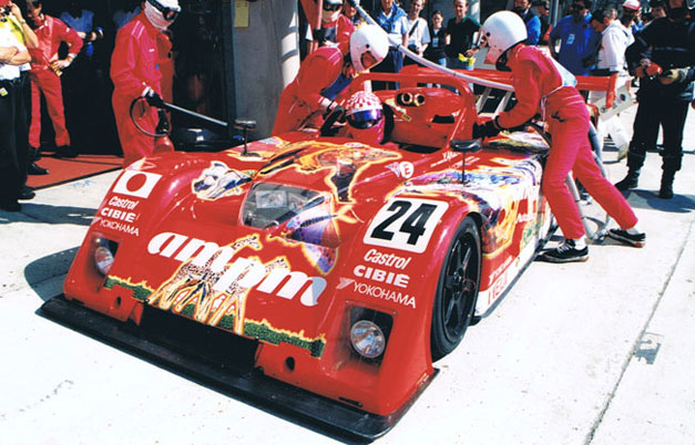 Franck Freon racing in 24 Hours of Le Mans