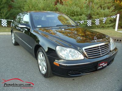 2003 MERCEDES-BENZ S500 4MATIC NAV