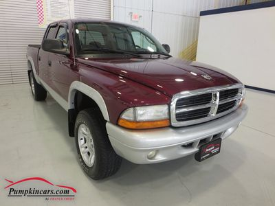 2003 DODGE DAKOTA QUAD CAB 4X4 V8 SLT