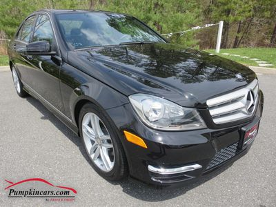 2012 MERCEDES-BENZ C300 SPORT 4MATIC NAVIGATION
