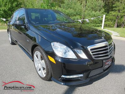 2012 MERCEDES-BENZ E350 4MATIC NAVIGATION