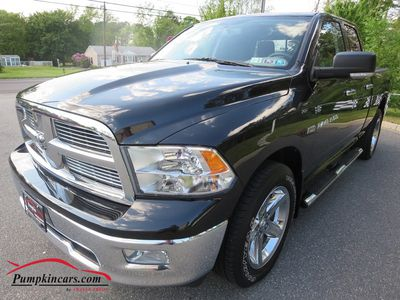 2011 DODGE RAM1500 QUAD 4X4 BIG HORN HEMI