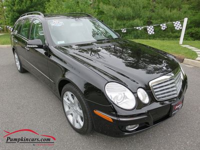 2007 MERCEDES-BENZ E350 4MATIC WAGON NAVIGATION