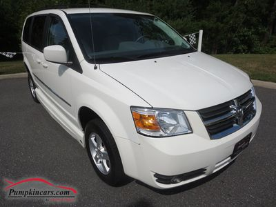 2010 DODGE GRAND CARAVAN SXT WHEELCHAIR
