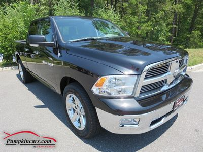 2011 DODGE RAM 1500 4X4 BIG HORN V8 4.7