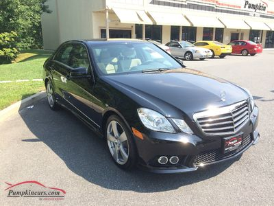 2010 MERCEDES-BENZ E350 4MATIC SPORT NAVIGATION