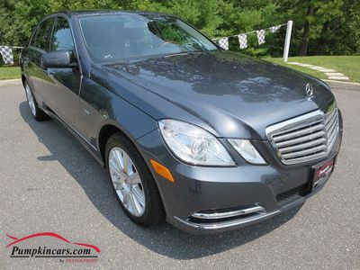 2012 MERCEDES-BENZ E350 LUXURY 4MATIC  NAVIGATION