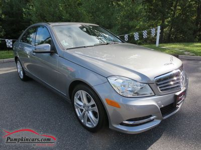 2012 MERCEDES-BENZ C300 4MATIC LUXURY NAVIGATION