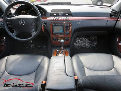 2002 MERCEDES-BENZ S430 SPORT NAVIGATION