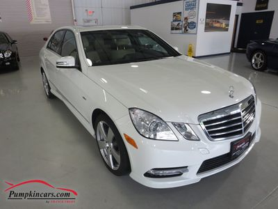 2012 MERCEDES-BENZ E350 SPORT 4MATIC NAVIGATION