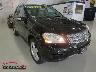 2008 MERCEDES-BENZ ML350 4MATIC AWD NAVIGATION