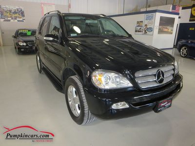 2005 MERCEDES-BENZ ML500 4MATIC AWD NAVIGATION