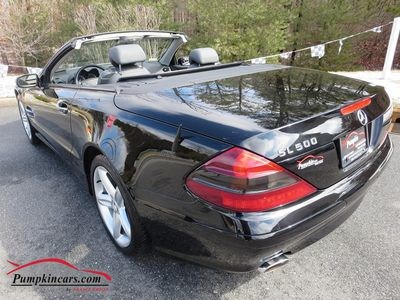 2004 MERCEDES BENZ SL500 ROADSTER