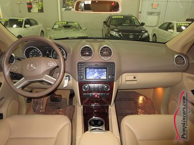 2011 MERCEDES-BENZ ML350 4MATIC NAVIGATION