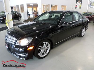 2012 MERCEDES-BENZ C300 4MATIC NAVIGATION