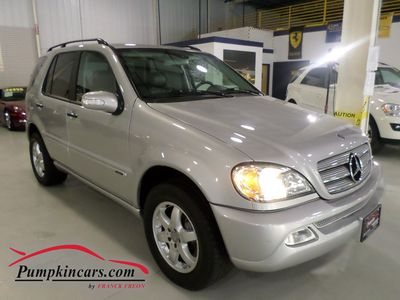2004 MERCEDES-BENZ ML500 4MATIC NAVIGATION