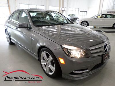 2011 MERCEDES-BENZ C300 SPORT 4MATIC NAVIGATION