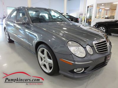2009 MERCEDES-BENZ E350 SPORT 4MATIC
