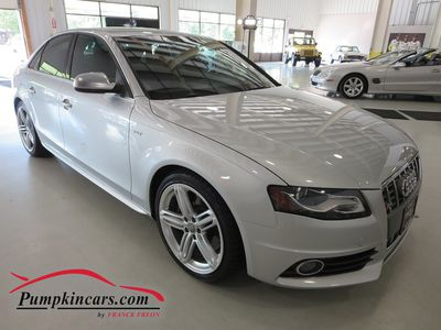 2012 AUDI S4 QUATTRO 6-SPEED NAV