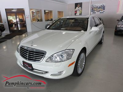 2008 MERCEDES-BENZ S550 4MATIC NAVIGATION