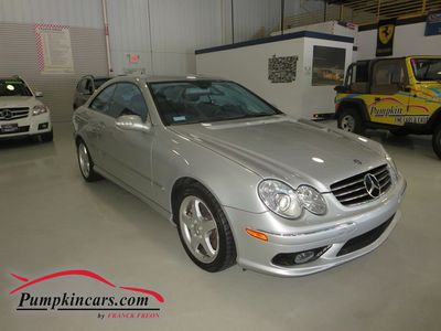 2003 MERCEDES-BENZ CLK500 NAVIGATION