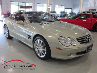 2003 MERCEDES-BENZ SL500 DESIGNO EDITION