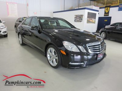 2013 MERCEDES-BENZ E350 SPORT 4MATIC NAVIGATION