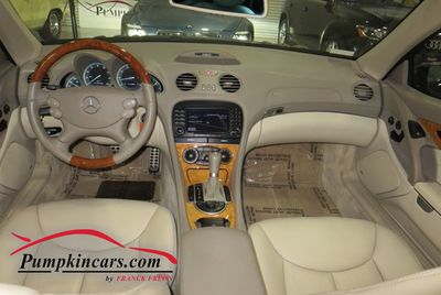 2006 MERCEDES-BENZ SL500 NAVIGATION