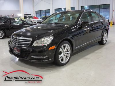2013 MERCEDES-BENZ C300 4MATIC LUXURY NAVIGATION