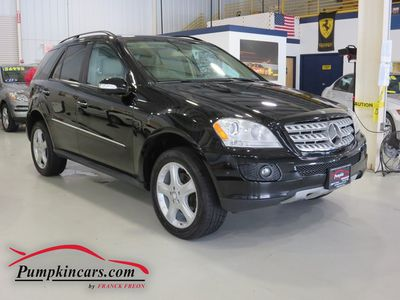 2008 MERCEDES-BENZ ML350 4MATIC NAVIGATION