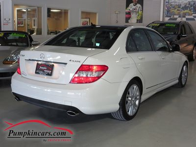 2009 MERCEDES-BENZ C300 SPORT 4MATIC NAVIGATION