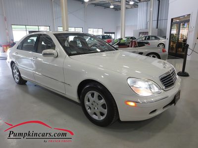 2002 MERCEDES-BENZ S500 NAVIGATION