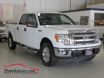 2014 FORD F150 XLT 4X4 SUPERCREW
