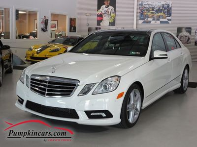 2011 MERCEDES-BENZ E350 4MATIC NAVIGATION