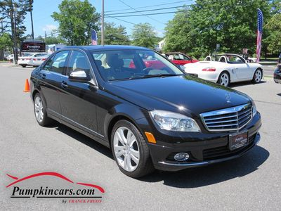 2009 MERCEDES-BENZ C300 4MATIC LUXURY NAVIGATION