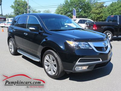 2012 ACURA MDX ADVANCE AWD NAVIGATION