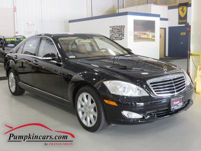 2007 MERCEDES-BENZ S550 4MATIC NAVIGATION