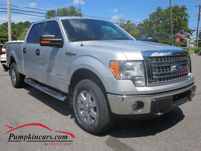 2014 FORD F150 4X4 XLT V6 ECO SUPER CREW