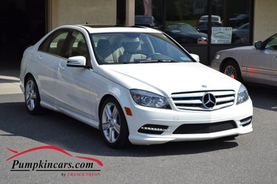 2011 MERCEDES-BENZ C300 4MATIC SPORT NAVIGATION