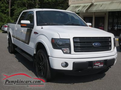 2014 FORD F150 FX4 4X4 SUPERCREW