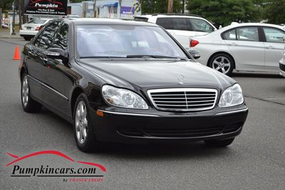 2004 MERCEDES-BENZ S430 4MATIC NAVI + MOON ROOF