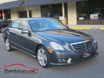 2010 MERCEDES-BENZ E350 SPORT 4MATIC NAVIGATION