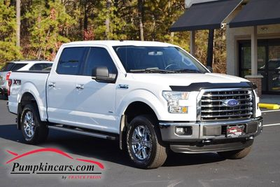 2015 FORD F150 4X4 XLT V6 ECO SUPER CREW