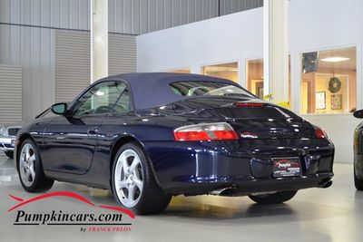 2003 PORSCHE 911 CARRERA CONVERTIBLE 6SPEED
