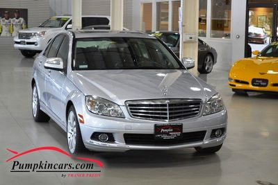 2008 MERCEDES-BENZ C300 LUXURY MOON ROOF