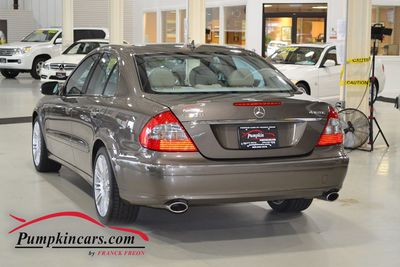 2008 MERCEDES-BENZ E350 4MATIC NAVIGATION