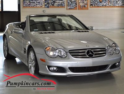 2008 MERCEDES-BENZ SL550 HARD TOP NAVIGATION