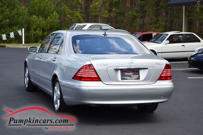 2004 MERCEDES BENZ S500 MOON ROOF BOSE SOUND